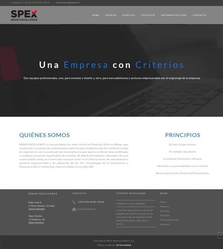 Spex: Spain Excellence - Empresa