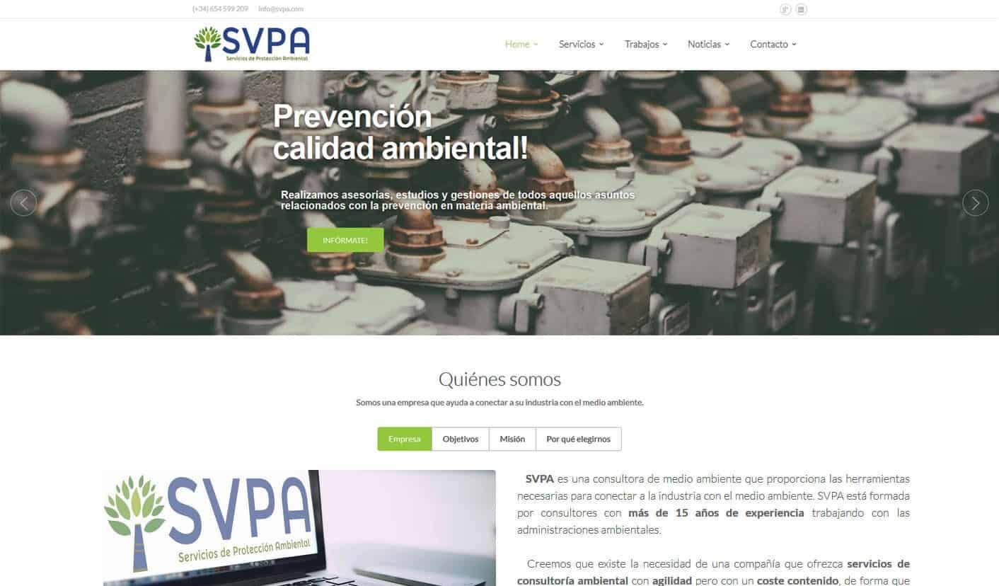 SVPA Web