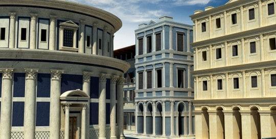 Detalle Ciudad ideal de Piero della Francesca