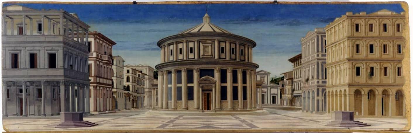 Tabla de la Ciudad ideal de Pierro della Francesca