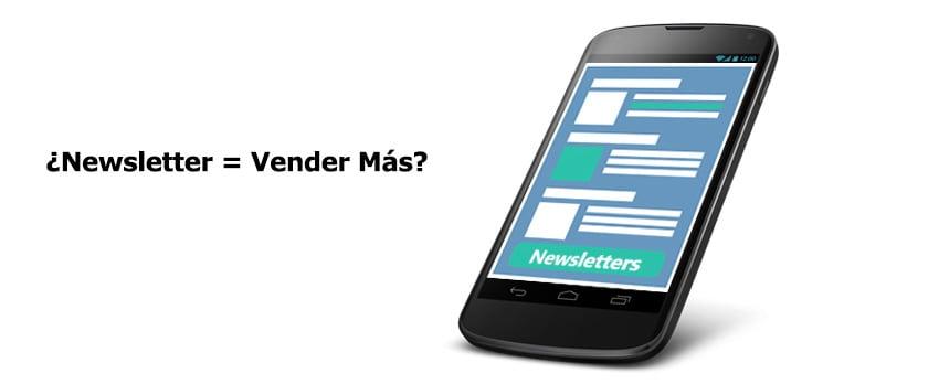 ¿Es el objetivo de los newsletter vender más?