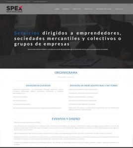 Spex: Spain Excellence - Servicios