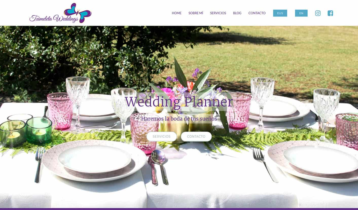Tximeleta Weddings - Wedding Planner Portfolio