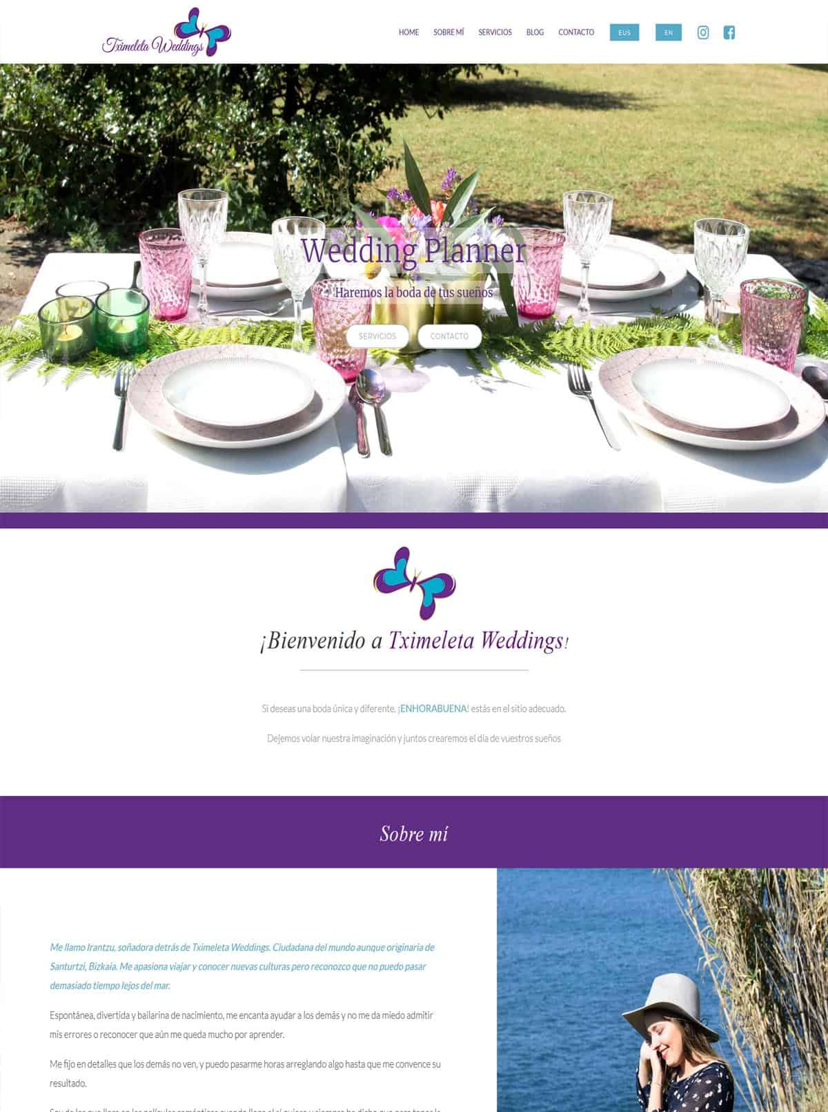 Tximeleta Weddings - Wedding Planner